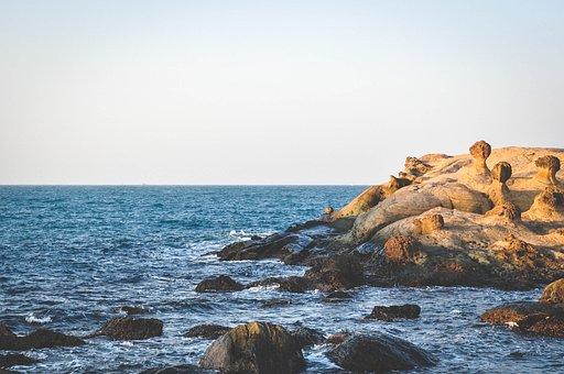 Coast, Rocks, Water, Landscape, Nature, Travel, Sea