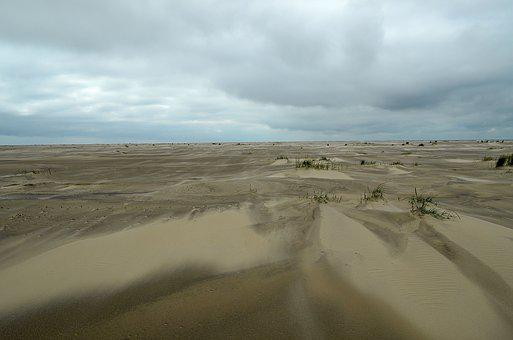 Sea, Mood, Beach, Sandstorm, Atmosphere, Vision, Coast