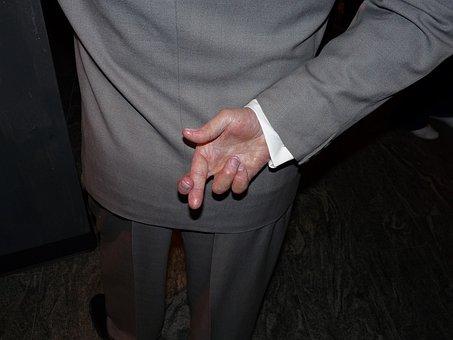 Crossed Fingers, Cross Fingers, Gesture, Hand Gesture