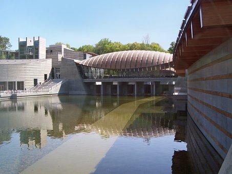 Benton, Arkansas, Crystal Bridges Museum Of Art, Sky