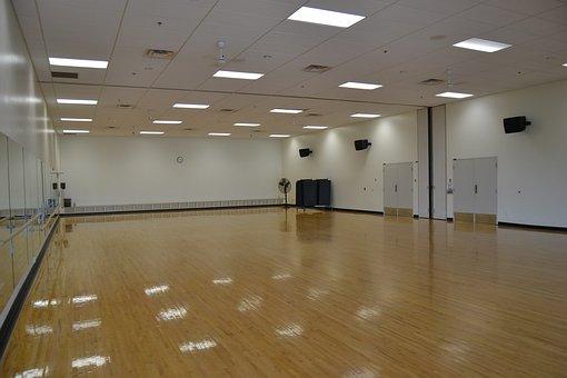 Gym, Sports Hall, Studio, Dance Studio, Indoors