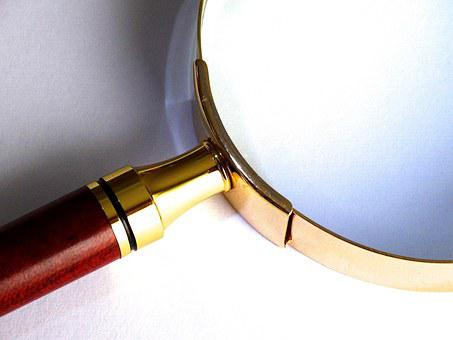 Magnifying Glass, Magnification, Larger View, Focus