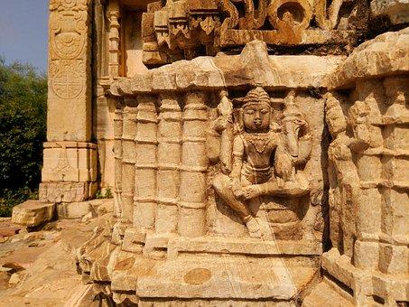 Vishnu, Hindu, Temple, Rajasthan