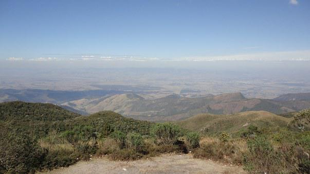 Campos Do Jordão, Serra, Mato, Vista, Sky, Horizon
