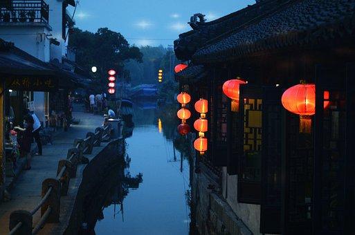 The Ancient Town, Jiangnan, Suzhou