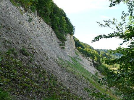 Landslide, Mössingen, Baden Württemberg, Rock, Stone