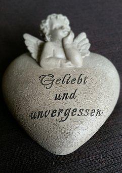 Heart, Angel, Loved, Unforgotten, Mourning, Love