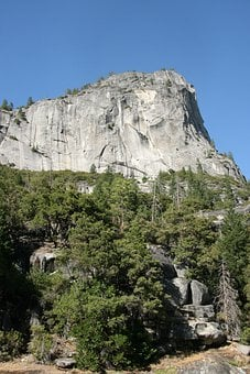 Yosemite, Mountains, Granite, Usa, Landscape, Rock