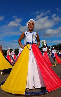 Carnival, Bahia, Parade, Pregnant, Ala, Samba School