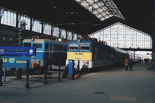 Train, Station, Railway, Travel, Transportation