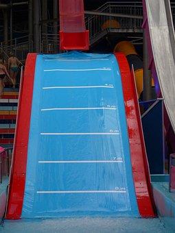 Hill Slide, Water Slide, Slide, Water, Water Park