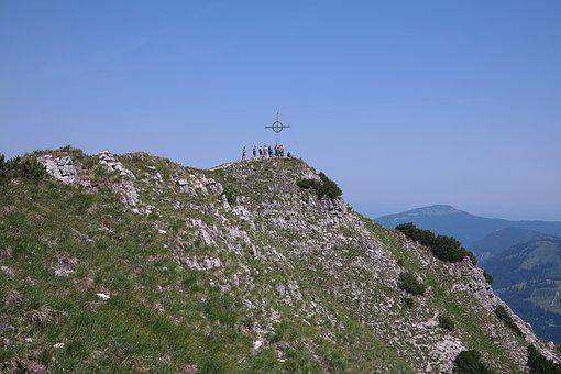 Bschiesser, Mountain, Allgäu, Summit, Summit Cross