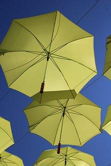 Umbrella, Szentendre, Decorative Street