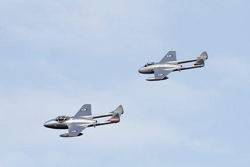 Aeroplane, Air Force, Aircraft, Airplane, Aviation