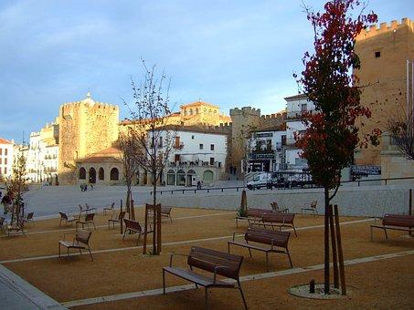 Main Square, Cáceres, Extremadura, Spain