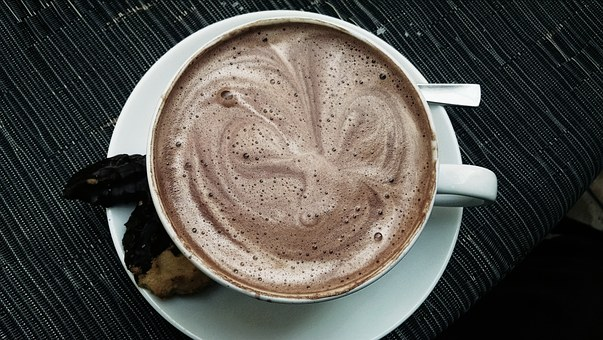 Cup, Hot Chocolate, Drink, Delicious, Cafe, Sweet, Hot