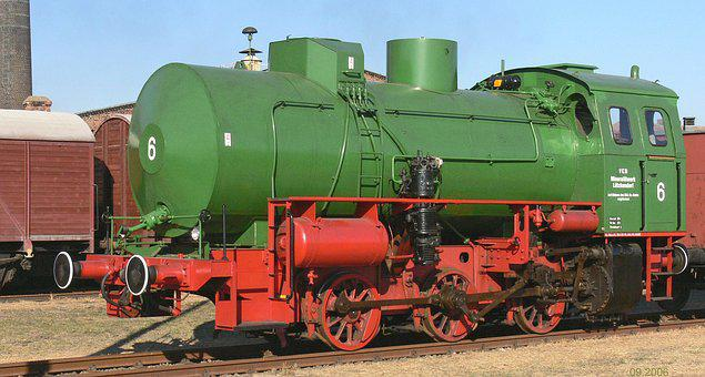 Dampfspeicherlok, Museum, Exhibit, Feuerlos, Switcher