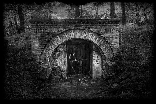 Doorway, Tunnel, Abstract