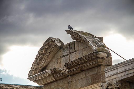 Merida, Theatre, Badajoz, Hispania, Extremadura
