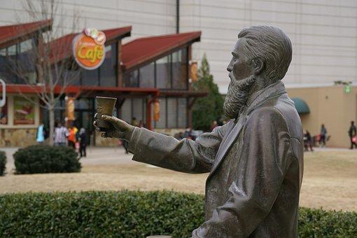 Pemberton Statue, Atlanta, Georgia, Statue, Sculpture