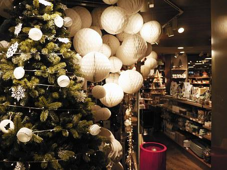 Lighting, Christmas, Store, Tree, Light Bulb