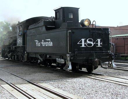 Locomotive, Train, Railroad, Engine, Railway, Transport