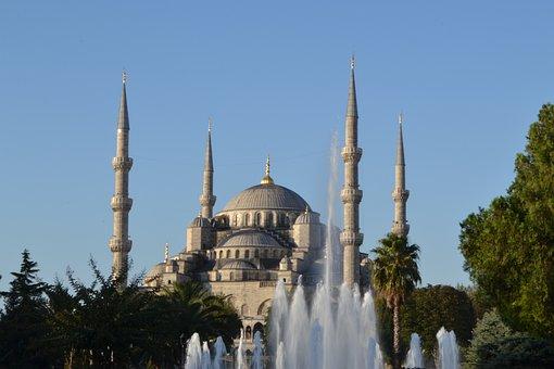 Ahmetsultan, Mosque, M, Istanbul, Architecture, Turkey
