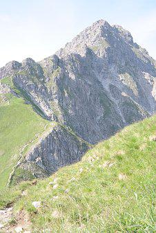 Rough Horn, Mountain, Summit, Ridge, Tightrope Walk