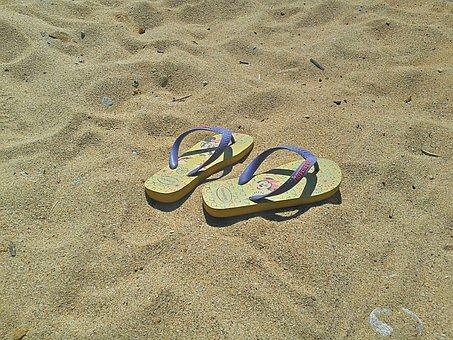 Flip Flops, Shoes, Summer, Flip, Beach, Shoe, Sandal