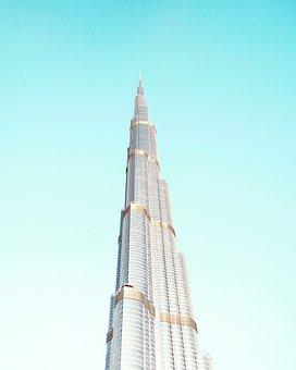 Architecture, Building, Dubai, Sky, Tallest Building