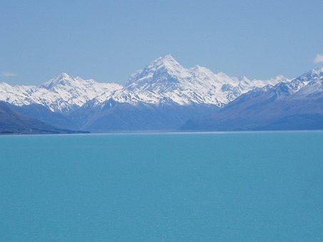 New Zealand, South Island, Lake Tekapo