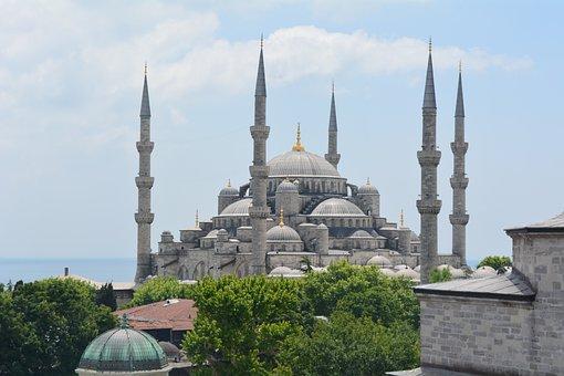 Blue Mosque, Istanbul, Turkey, Islam, Architecture
