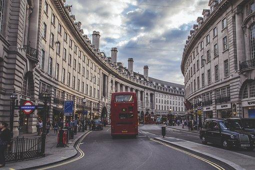 London, Regent Street, England, Street, Uk, Regent