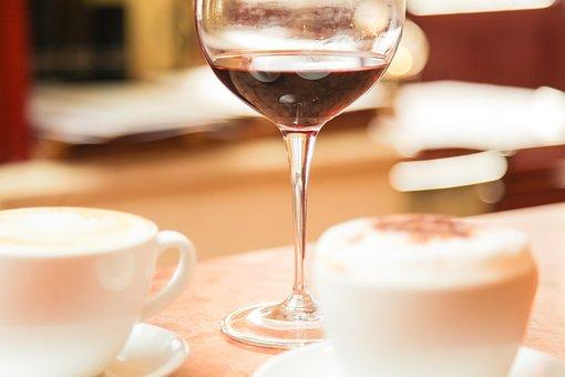 Wine Glass, Coffee Cup, Restaurant, Berlin