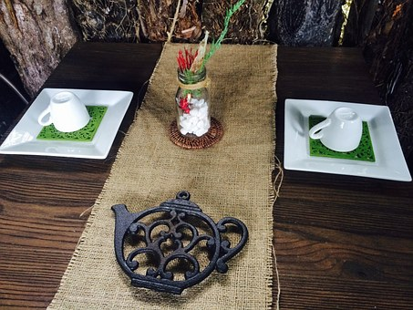 Tea, Table, Cup, Wood, Herbal, Organic, Culture
