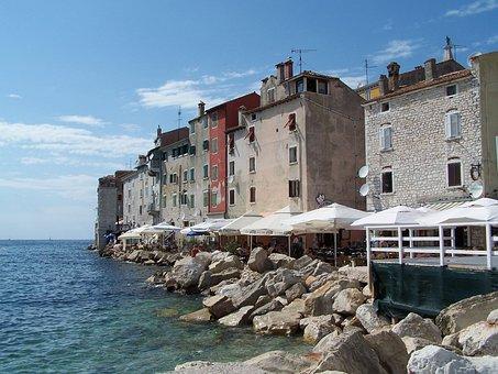Rovinje, Croatia, Ad, Coastline, Harbor, House, Europe