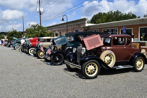 Vintage Cars, Show, Drive, Chrome, Auto, Automobile