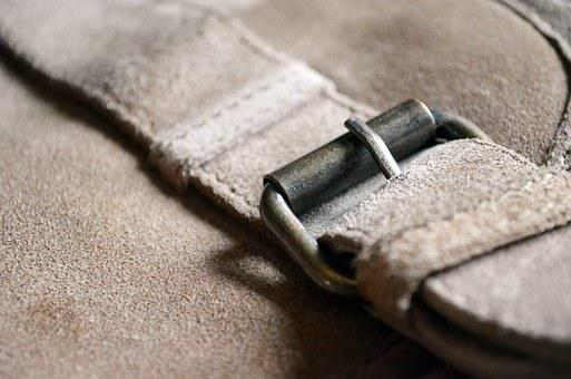 Bag, Closure, Skin, Texture, Square Bracket, Buckle