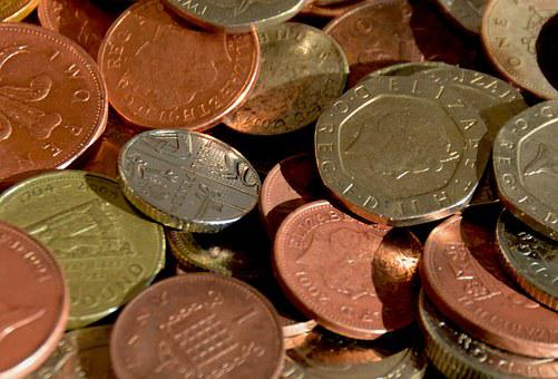 Money, Coins, Cash, Banking, Currency, Economy