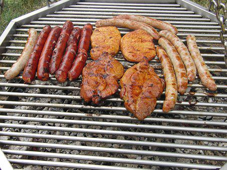 Grilling, Barbecue, Preparation, Grill Sausage