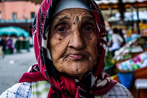 Old Woman, Morocco, Marrakech, Berbere, Marrakesh