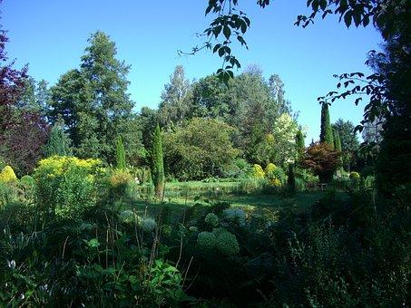Marzellus Garden, Biberachzell, Swabia, Bavaria