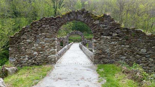 Building, Bridge, Ancient Monument, Devil's Bridge