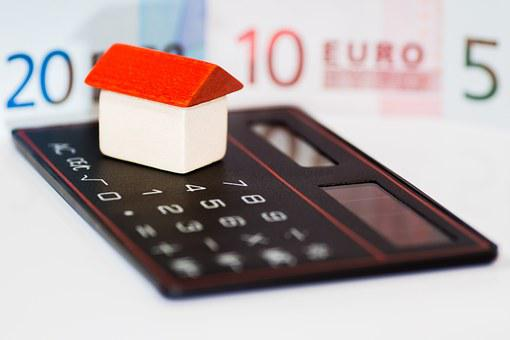 House, Money, Euro, Calculator, Finance, Business