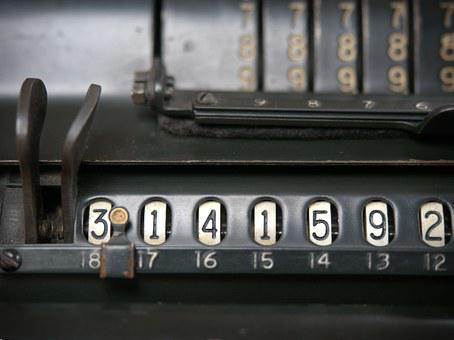 Vintage, Calculator, Pi, Calculation, Calculate
