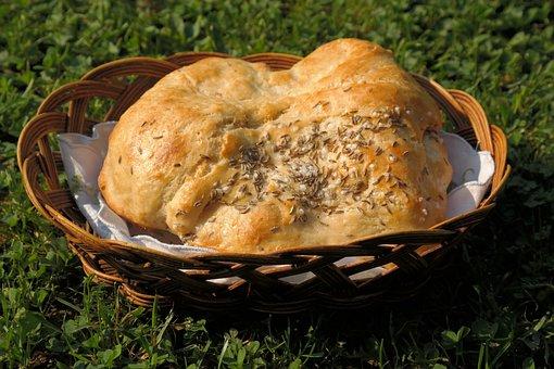 Knauzen, Bread, Salt, Caraway, Pastries, Crispy