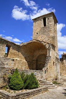 Church, Ruin, Steeple, Building, Architecture, Decay