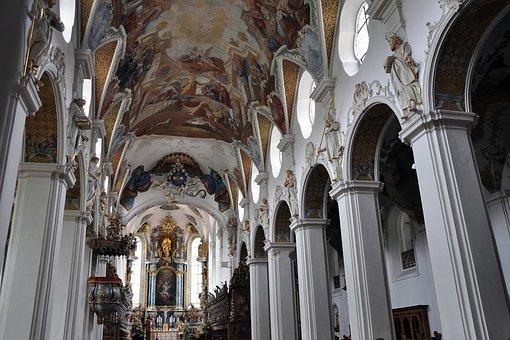 Monastery, Church, Religion, Swabia, Bad Schussenried
