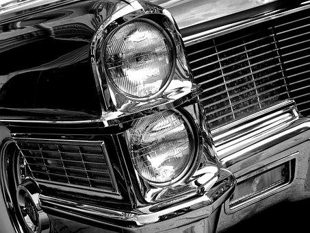 Cadillac, American, Car, Classic, Vintage