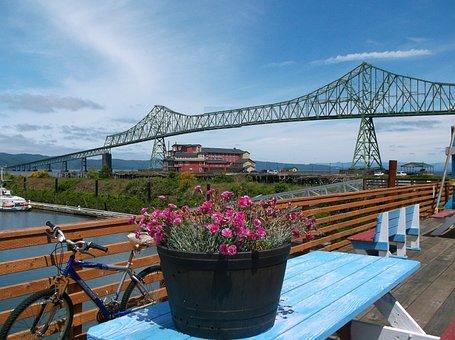 Bridge, River, Columbia River, Astoria Megler Bridge
